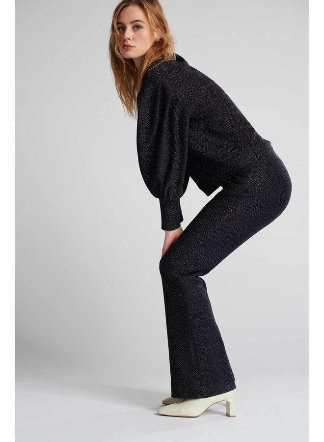 Lurex Sweater - Blue Shimmer
