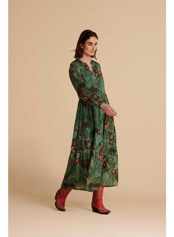 Urban Jungle Dress - Jungle Green