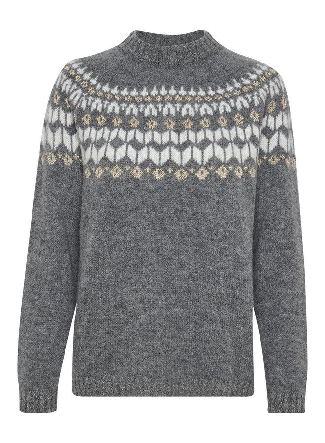 Thurid Pullover - Grey Melange