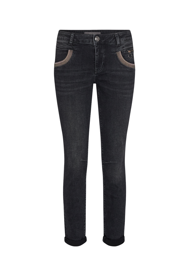 Naomi Shade Washed Jeans - Grey