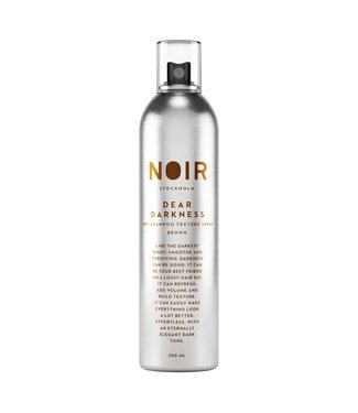 Noir Dear Darkness Dry Shampoo and Texturising Spray for brunettes  |  250ml