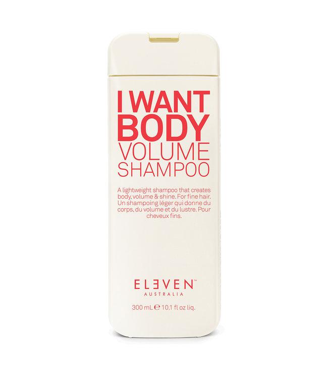 Eleven I Want Body Volume Shampoo