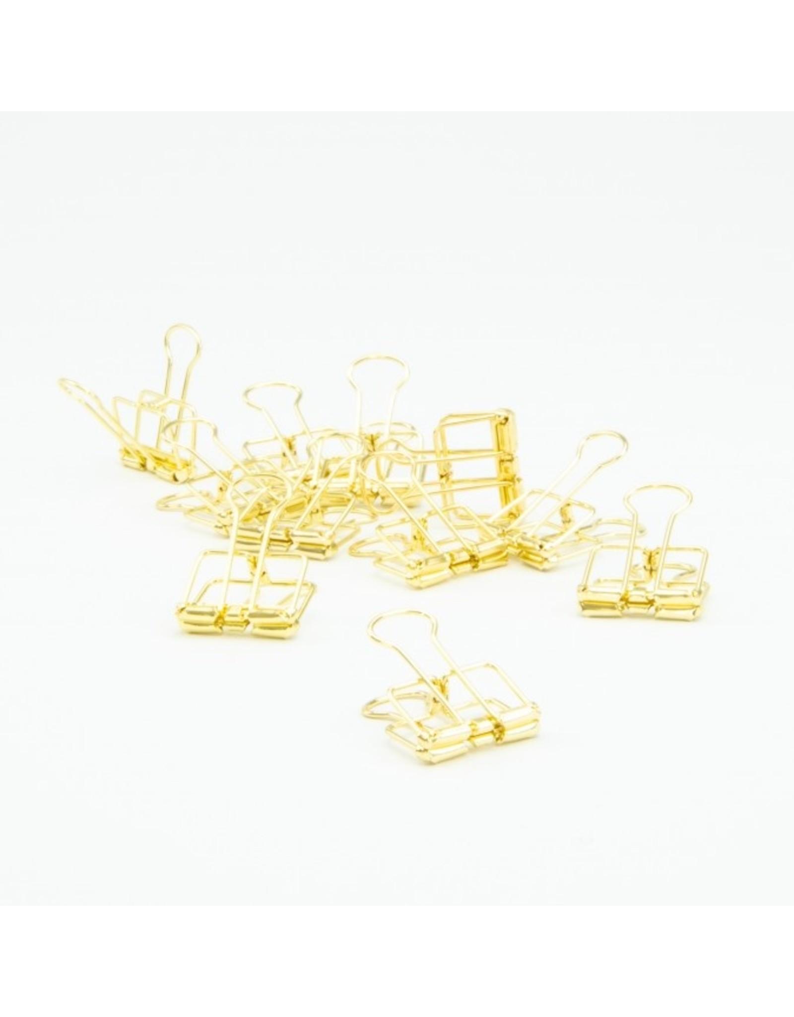 Oli & Eli Clip metaal - goud
