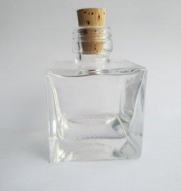 Oli & Eli Glazen flesje met kurk - 50ml
