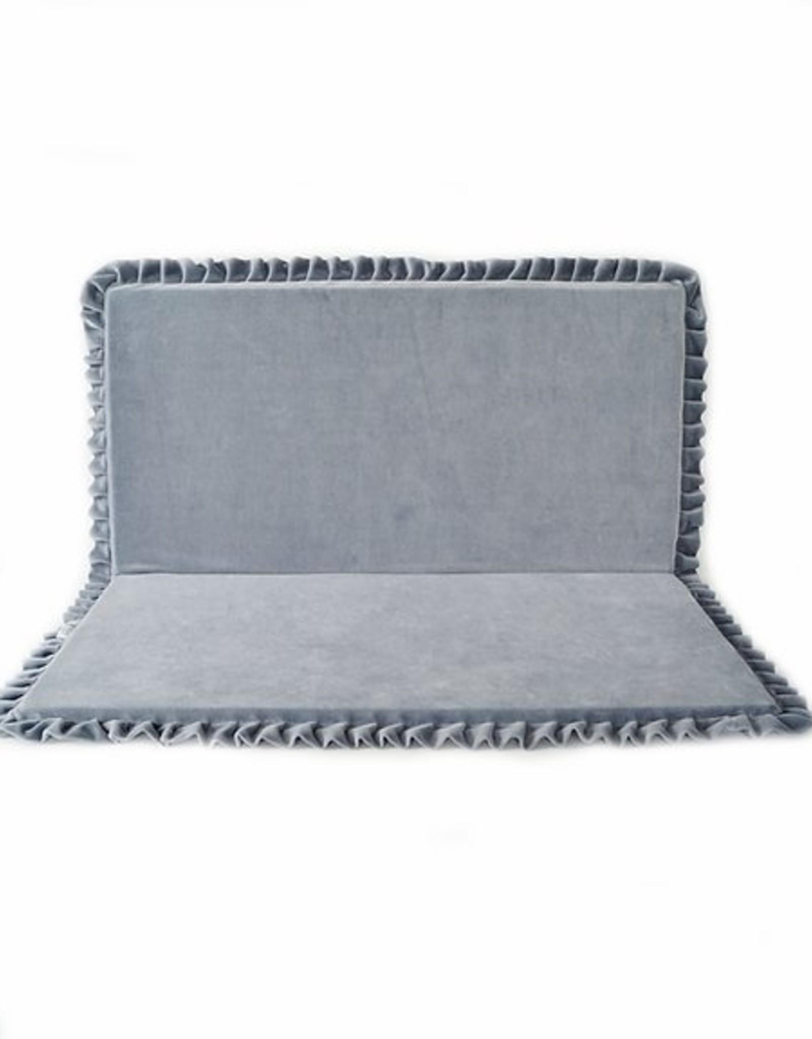 Miii Mi Velvet speelmat Vierkant - grey