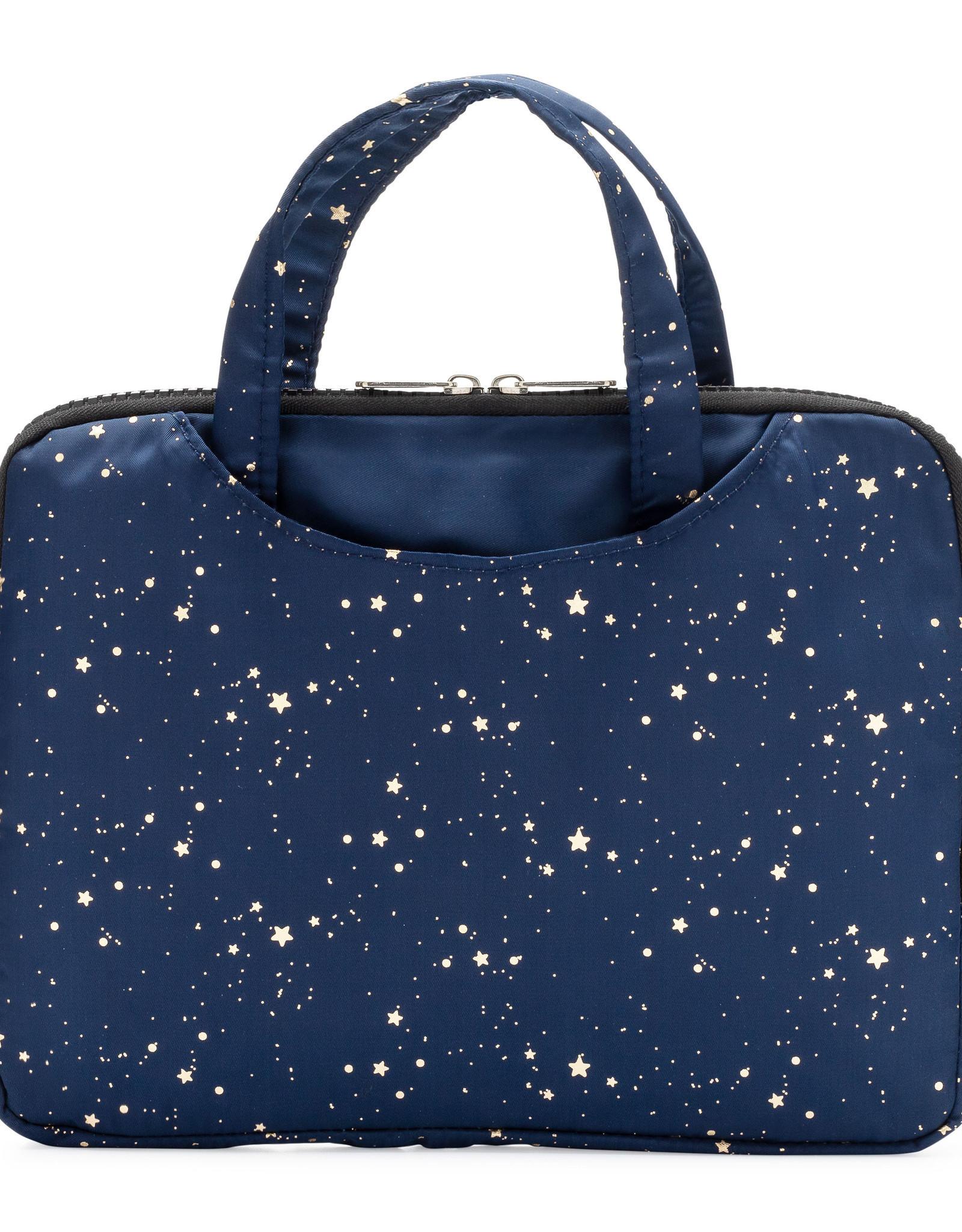Yumbox Yumbox Pouch isolerende hoes - marineblauw met sterren