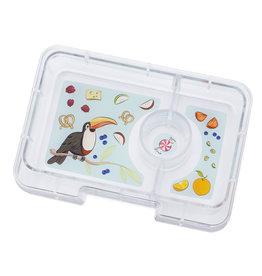 Yumbox Yumbox Minisnack extra tray - toekan