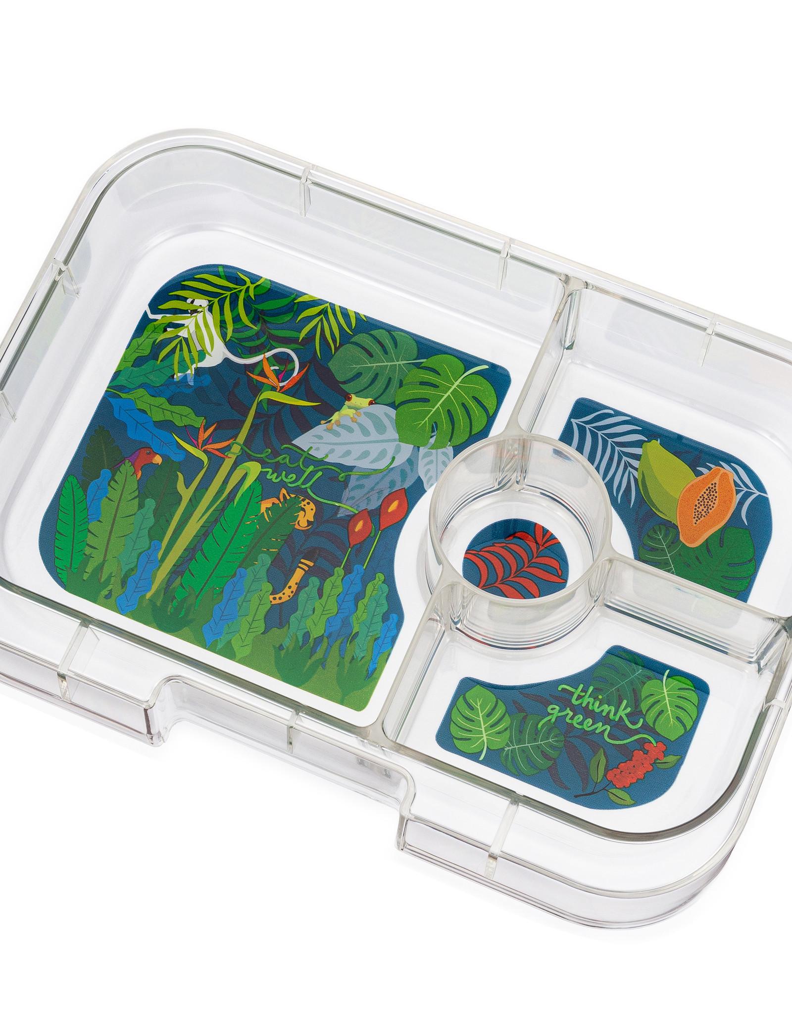 Yumbox Yumbox Panino extra tray 4-vakken Jungle