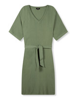 ALIX THE LABEL Ladies woven crinkle tunic dress