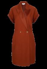 DANTE6 Le Saint satin detail dress