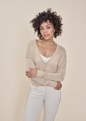 MOS MOSH Lark Linen Knit Cardigan