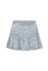 ALIX THE LABEL Ladies woven animal short skirt