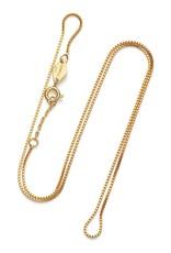 Box Chain Necklace col. gold ANNI LU 57cm