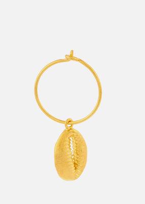 ANNI LU Cowry Shell Hoop Earring col. Gold ANNI LU