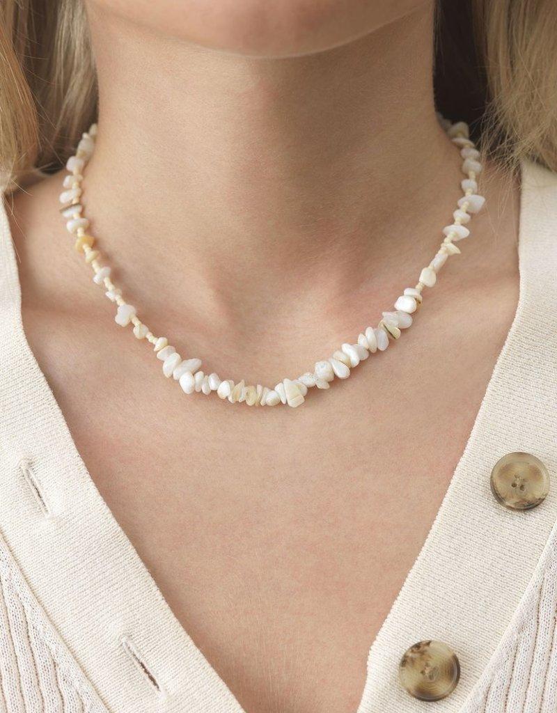 Reef Necklace col. Cream Pearl ANNI LU