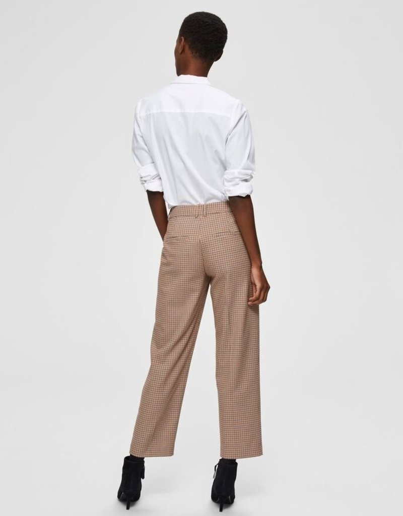 SELECTED FEMME Cropped Pant Check