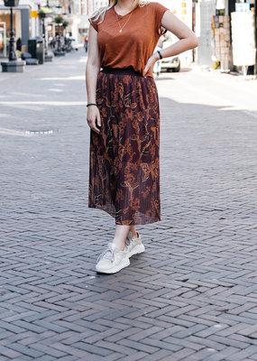 MOS MOSH Plisese Mesh Skirt