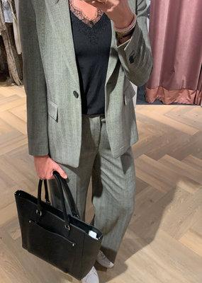 SET FASHION Wide cut suit trousers