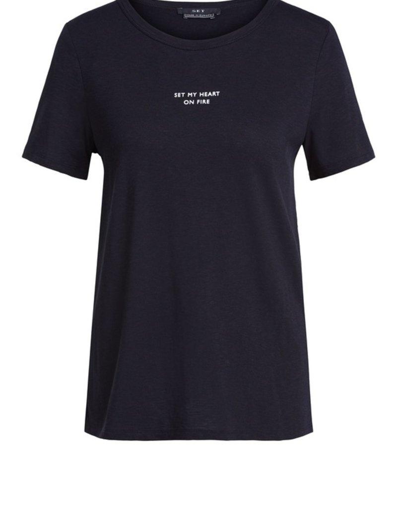 SET FASHION Statement print T-shirt