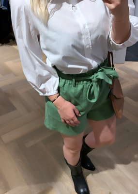 ALIX THE LABEL Ladies woven ramie shorts