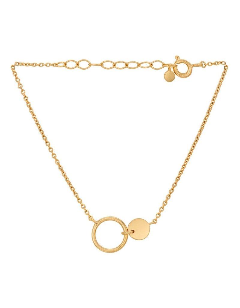 PERNILLE CORYDON Eon bracelet adj. 15-18 cm