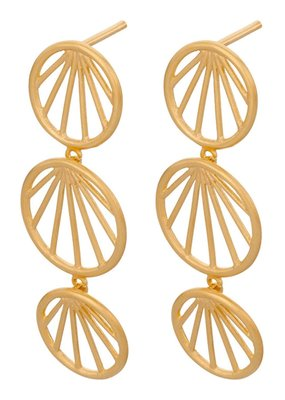 PERNILLE CORYDON Sunray earrings size 35mm