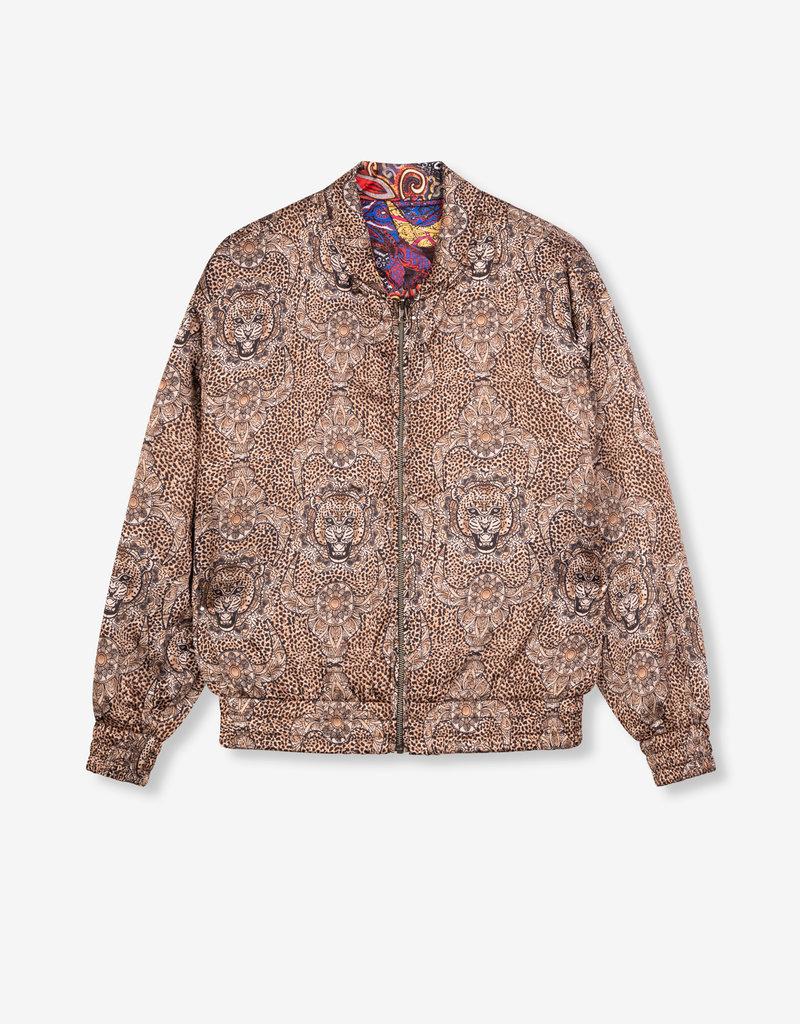 ALIX THE LABEL Ladies woven reversible jacket