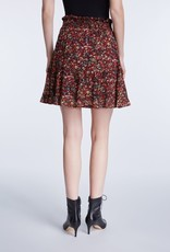 SET FASHION Miniskirt with rocky millefleurs print