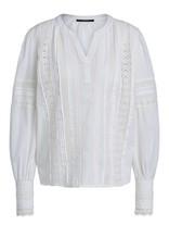 SET FASHION Blouse with playful lace details