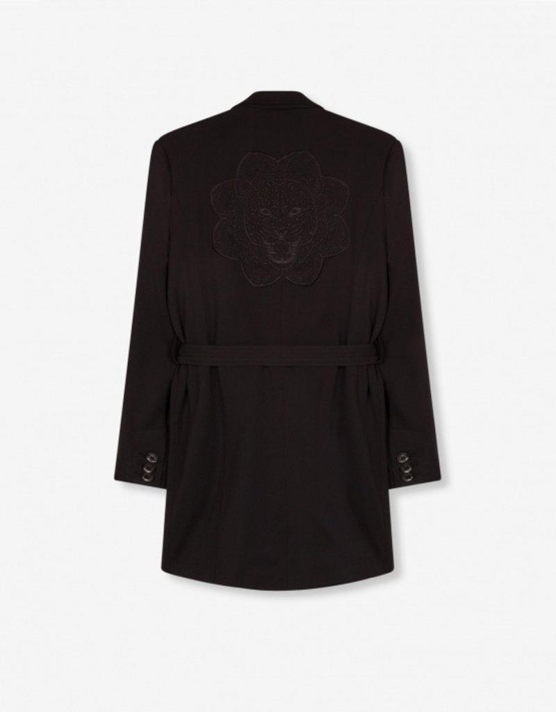 ALIX THE LABEL Ladies woven blazer with strap