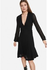 ALIX THE LABEL ladies knitted lace dress