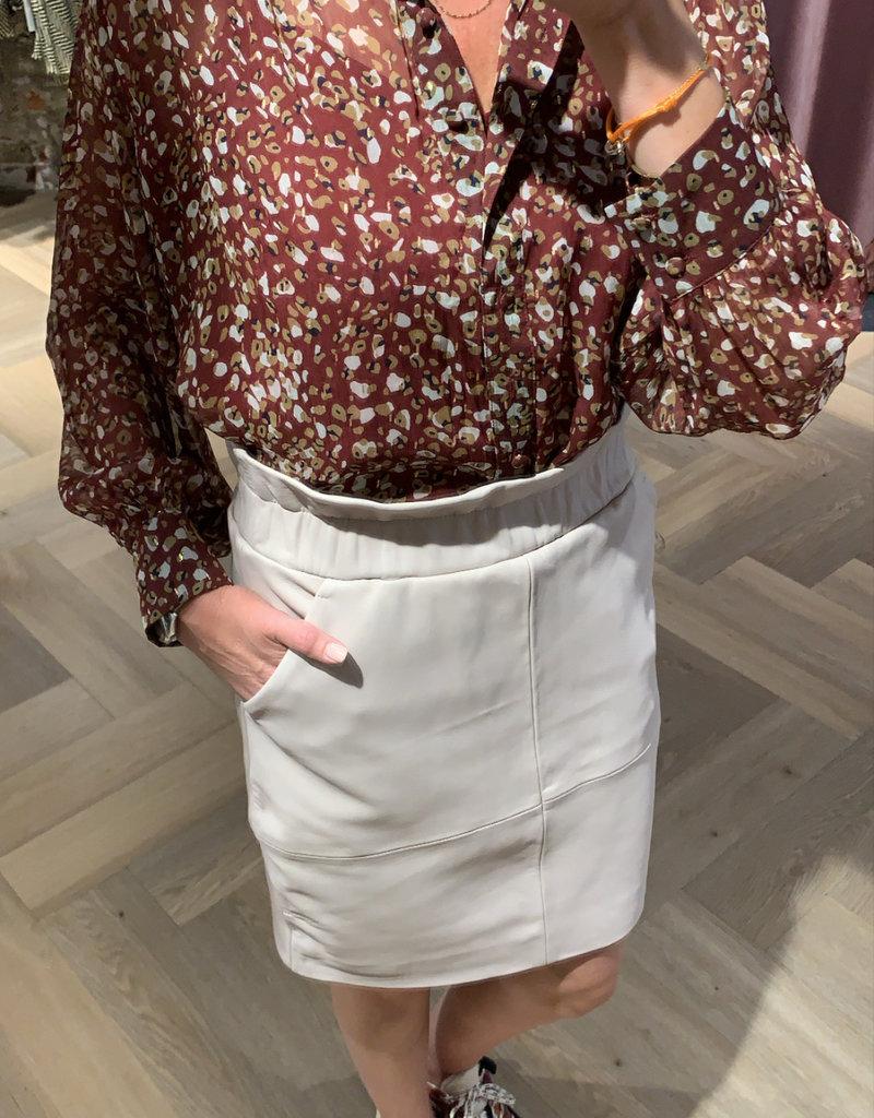 DANTE6 Adyn Leather skirt