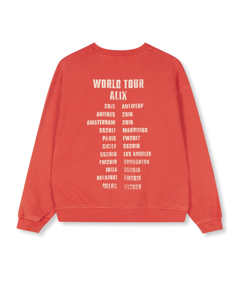 ALIX THE LABEL Oversized on tour sweater