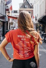 ALIX THE LABEL On tour shirt