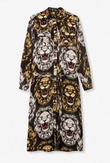 ALIX THE LABEL Oversized lion blouse dress