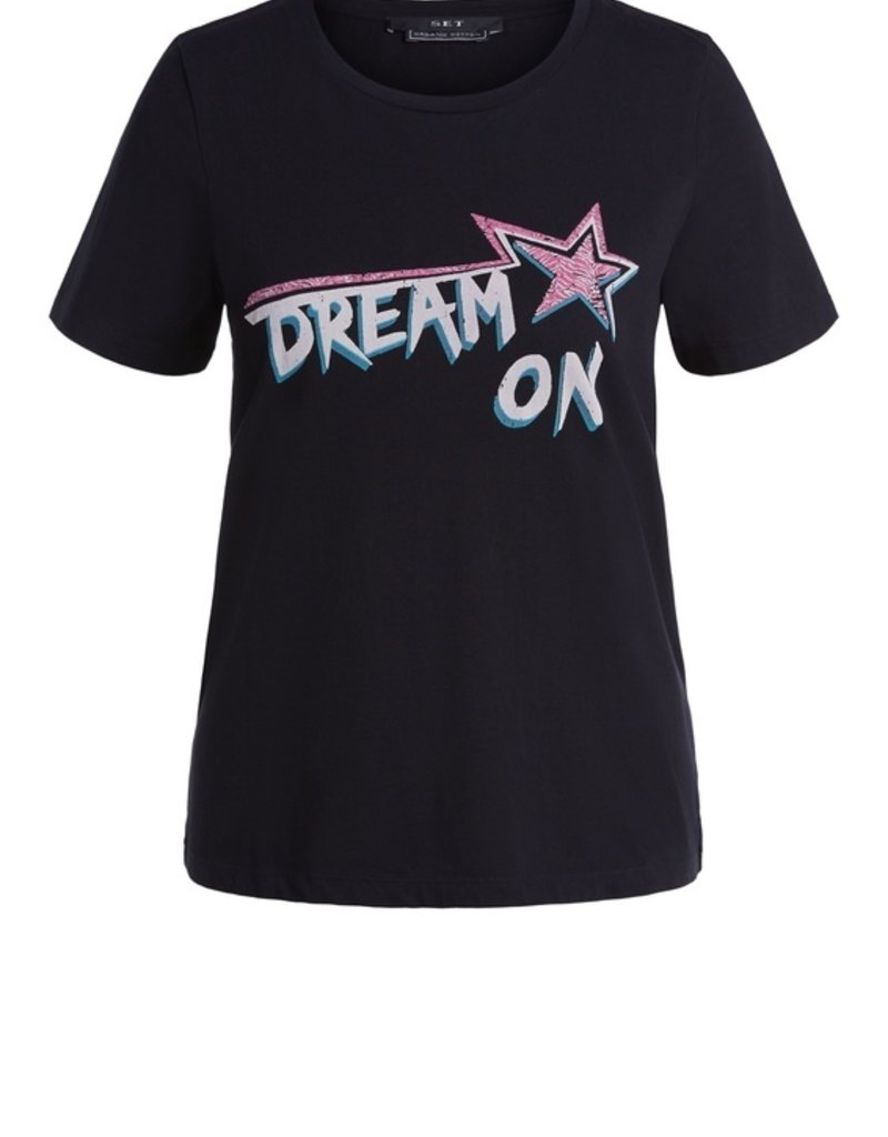 SET FASHION Rocky print shirt DREAM ON