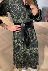 ALIX THE LABEL Animal maxi dress