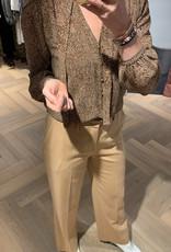DANTE6 Bibi chevron printed blouse