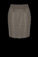 DANTE6 Dyna leather skirt