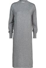 SUMMUM WOMAN Mockneck dress viscose blend knit