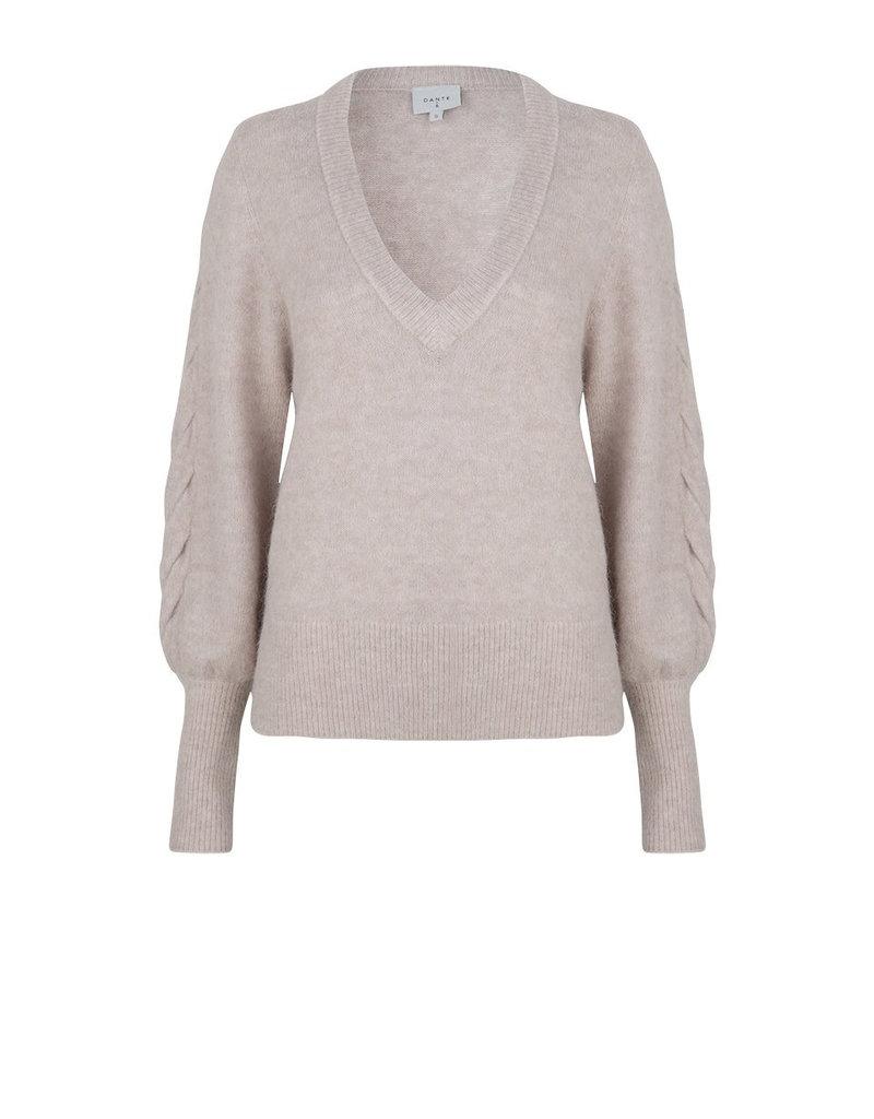 DANTE6 Broame sleeve braided sweater
