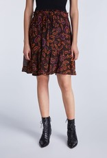 SET FASHION Skirt with floral pattern