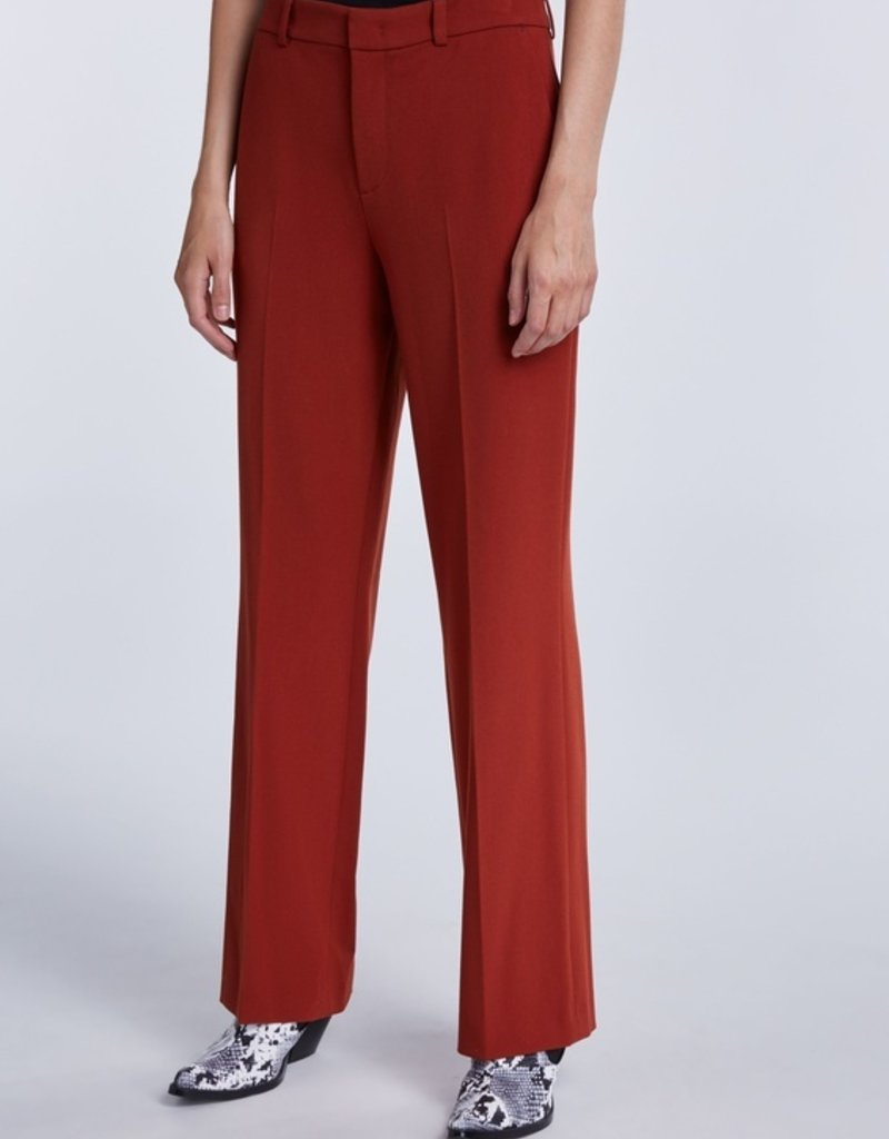 SET FASHION High-waisted trousers with wide leg