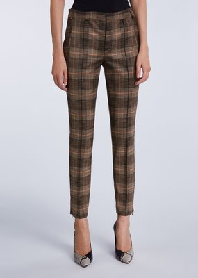 SET FASHION Trouser with check pattern