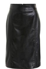 SET FASHION Vegan leather skirt