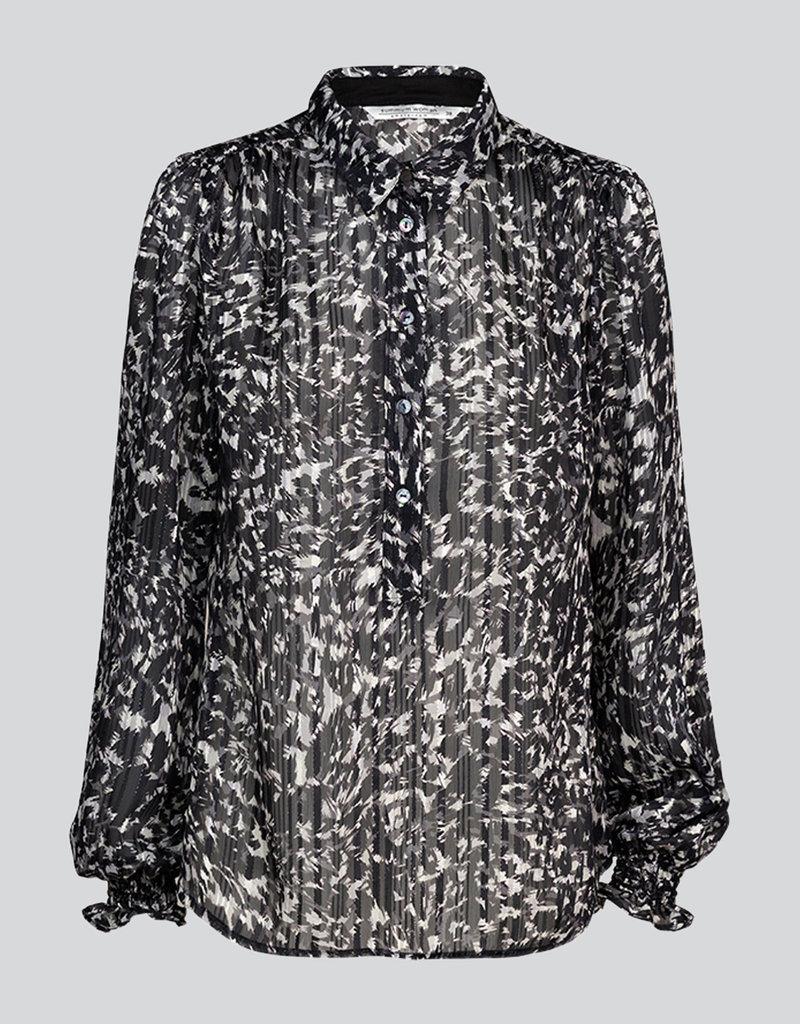 SUMMUM WOMAN Blouse camouflage lurex