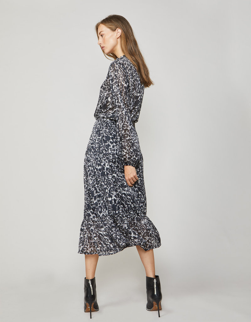 SUMMUM WOMAN Dress camouflage lurex
