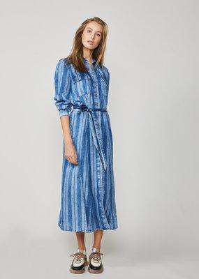 SUMMUM WOMAN Shirt dress belted