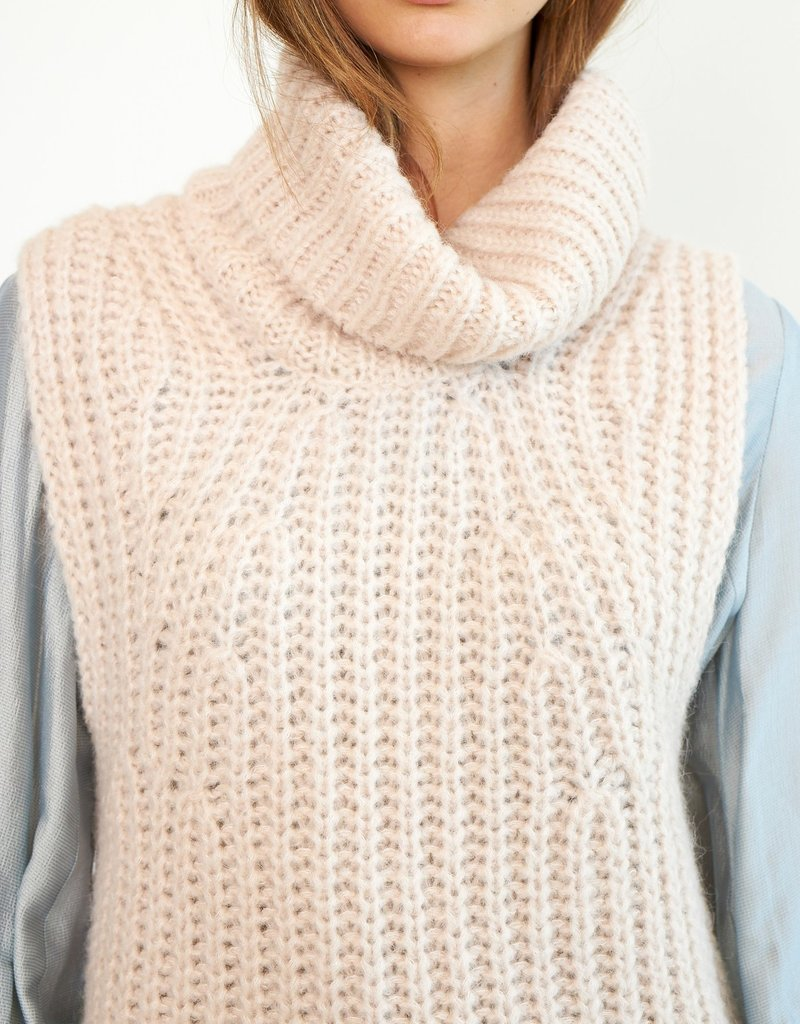 SECOND FEMALE Ivory Knit Vest