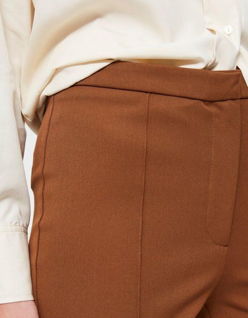 SELECTED FEMME SLFILUE MW PINTUCK PANT B